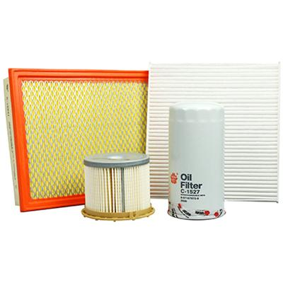 4WD Filter Kit Suits Holden Colorado RC, Rodeo RA, Isuzu D-Max TF 3.0L 4JJ1 - Click to enlarge