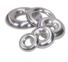 Aluminium Half Donut 2mm Short Radius 1.5 inch (38.1mm) - Click for more info