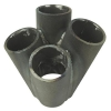 Manifold Merge Pipe Collector 4 into 1 / 32mm Staggered - Click for more info