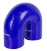 Silicone Hose Elbow 180-Deg x 6 inch Leg 2.50