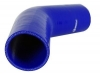 Silicone Hose Elbow 45-Deg x 6 inch Leg 2.75