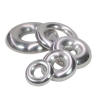 Aluminium Half Donut Long Radius - Click for more info