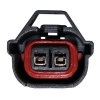 Injector Plug Adaptor Denso To EV6 (US Car) - Solid - Click for more info