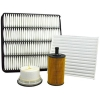4WD Filter Kit Suits Toyota Land Cruiser 4.5L T/TDI 1VD-FTV - Click for more info
