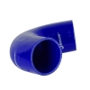 Silicone Elbow 135 Deg x 6 inch Leg Blue - Click for more info