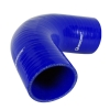 Silicone Elbow 90 Deg x 6 inch Leg Blue - Click for more info