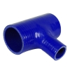Silicone T Piece Blue - Click for more info